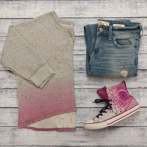 Arizona Jean company distressed ombre sweatshirt
